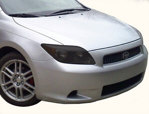 05-10 Scion tC precut smoked tinted HEADLIGHT covers vinyl ***$5 REFUND***