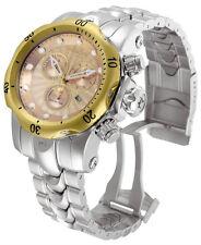 Swiss Made Invicta 10802 Reserve Venom Chronograph Rose-Gold Dial Mens Watch