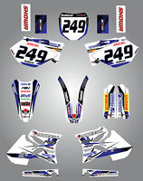 Full  Custom Graphic  Kit - STORM - Yamaha YZ  250 - 2002 - 2005 sticker kit