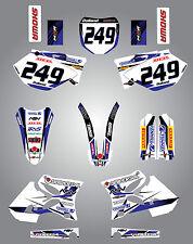 Full  Custom Graphic  Kit - STORM - Yamaha YZ  250 - 2002 - 2005 sticker kit