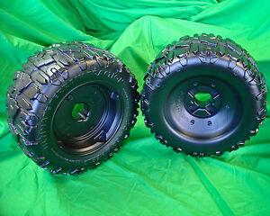 **NEW** Power Wheels F-150 Left & Right Wheel (Tire) Set of 2 Wheels