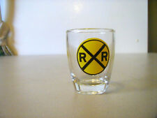 NEW SHOT GLASS - MERGING TRAFFIC/R&R - VERY NICE