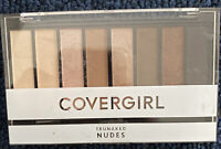 Covergirl~Trunaked Nudes~Eyeshadow Palette 8 Color Shades. E