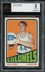 1972 Topps Basketball #230 Dan Issel BVG 8