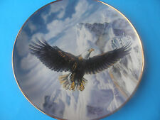 """The Franklin Mint """"On Freedom'S Wing"""" Plate #K9701 Ltd. Edition Fine Porcelain"""