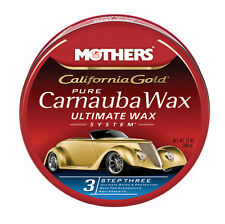 Mothers Pure Carnauba Wax California Gold 12 Oz