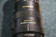 Sigma AF 150-500mm f5-6.3 DG OS HSM APO Lens Canon EF                       #640