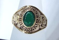 10k Yellow Gold 1968 Pentucket Regional Class Ring Size 7.5 by Dieges & Clust