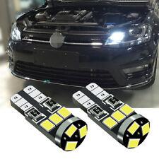 2 Pcs Xenon White LED Side Light 9 SMD Beam Bulbs Error Free Fits For VW Polo 6R