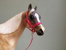 Traditional Scale Hot Pink Model Horse Halter For Breyer