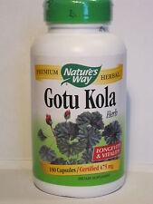 Indische Wassernabel Tigergras Gotu Kola Centella asiatica 475 mg 180 Kapseln