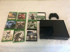Microsoft Xbox One 500GB Black Console with Games