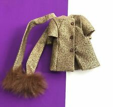 Vintage Barbie REPRODUCTION Gold N Glamour Jacket w/ Scarf 2001 REPRO