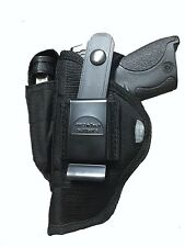 Black Nylon Gun holster Fits Walther PPS M2