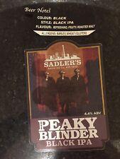 Sadlers Brewery Peaky Blinder Black IPA Ale Badge