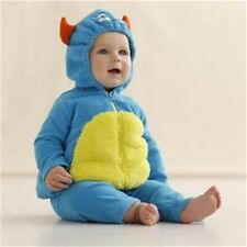 NWT Carter's Halloween Costume Blue Monster 2 Pcs Hooded Top & Pants 3 - 6 Month