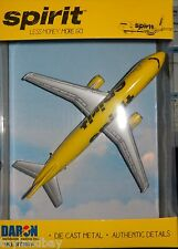 RealToy Spirit Airlines Airbus A320 Diecast 1:300 Scale Less Money More Go