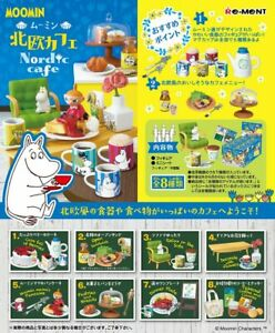 Re-Ment Miniature MOOMIN Northern Europe Nordic Cafe RARE Full set of 8