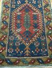 """ANTIQUE RUNNER HERIZZ KARAJAA HAND KNOTTED WOOL ORIENTAL RUG CLEANED 2'4"""" x8'8"""""""