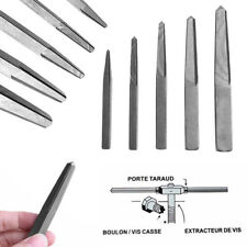 5Pcs Screw Extractor Kit Guide Broken Damaged Bolt Remover Drill Bits hot
