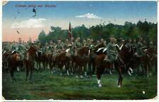 Ulanen fertig zur Attacke AK 1916 Feldpost Grajewo