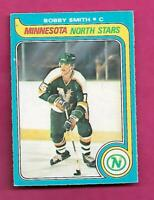 1979-80 OPC # 206 NORTH STARS BOBBY SMITH   ROOKIE EX-MT CARD (INV# C4798)