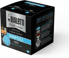 128 Capsule Bialetti Caffè D'Italia Espresso Napoli Miscela Forte Multipack