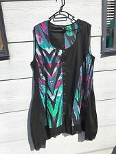 TS black and green dress/top in size 18