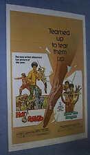 "Original HOT POTATO ENTER THE DRAGON Bruce Lee Tri Fold 27"" x 41"""