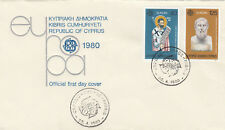 (14119) Cyprus FDC EUROPA 28 April 1980