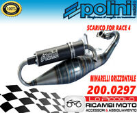 MARMITTA ESPANSIONE POLINI FOR RACE 4 APRILIA RALLY SR WWW STEALTH SCARABEO 50