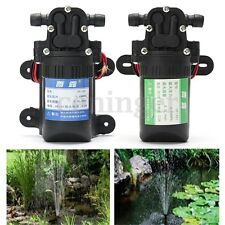 12V 3.5L/min Diaphragm High Pressure Water Pump Self-Priming For RV Boat