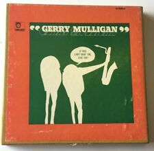 Gerry Mulligan If You Can't Beat Em Join Em  Reel Tape Guaranteed 3-3/4 EX/VG++