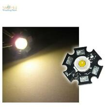 Hi-Power LED Star chip-placa 1w blanco cálido highpower