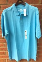 $78 TOMMY BAHAMA MENS 'NEW MARLIN AROUND' POLO GOLF SCANDIA BLUE SHIRT XL XLARGE