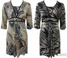 Party Paisley Dresses Plus Size for Women