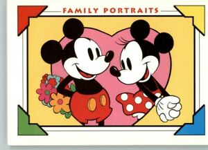 """1991 Impel Disney Family Portraits #127 """"I Only Have Eyes for You""""  Min and Mic"""