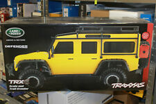 Traxxas 82056-4 TRX-4 Yellow Crawler Land Rover Defender 1:10 Rtr