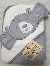 Baby Badetuch Bär Kapuzentuch und 1Waschlappen