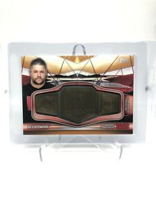 2019 Topps WWE Raw Kevin Owens Universal Championship Medallion Card (/99 SP)