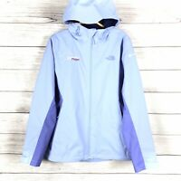 The North Face Women's Purple DryVent Full Zip Jacket Hooded Shell Size Medium