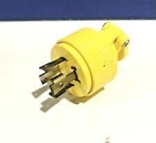 Pass /& Seymour #83CC4 30A 125V Black Trail Plug,No 83CC4