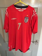 England 2004/06 Away Shirt Large Beckham Great Condition Official