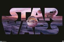 STAR WARS - BABY YODA POSTER - 22x34 - THE MANDALORIAN 18512