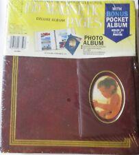 NEW SEALED: MBI Deluxe Photo Album w/ 100 Magnetic Pages and bonus Pocket Album