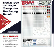 "SPACE 1999 - 22"" Eagle Transporter Weathering Decals"