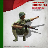 1/35 Chinese PLA Soldier Resin Kits Unpainted Figure YUFAN MODEL