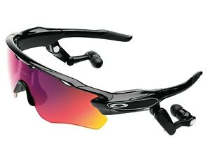 Oakley Radar Pace Bundle Prizm Lens Sport Sunglasses OO9333-01 Bluetooth Earboom