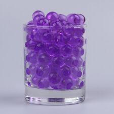 *BILLE DE GEL PERLE D'EAU*,6 sachets violet. décoration vase mariage soirée .