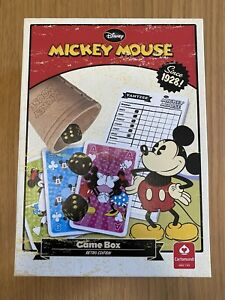 Disney Mickey Mouse Game Box Retro Edition - Yahtzee / Playing Cards Dice Family